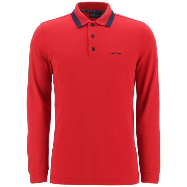 red AUGE golf  polo - MEN / AW19