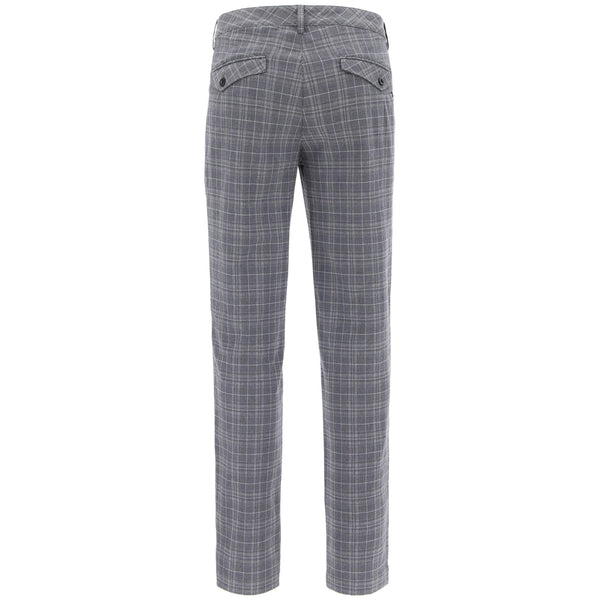 GREY 'SINCE' GOLF TROUSERS - MEN / AW19
