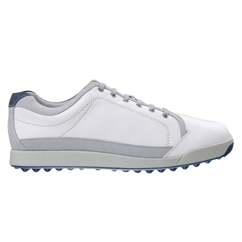 WHITE/SILVER/COBALT CONTOUR CASUAL GOLF SHOE   - MEN / OUTLET