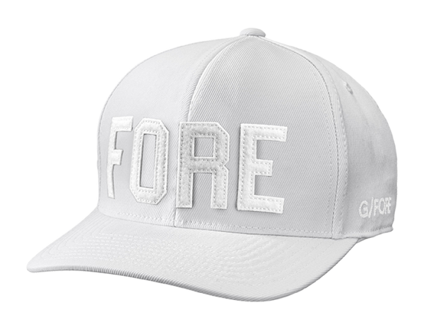 WHITE FORE HEAD CAP - 2018