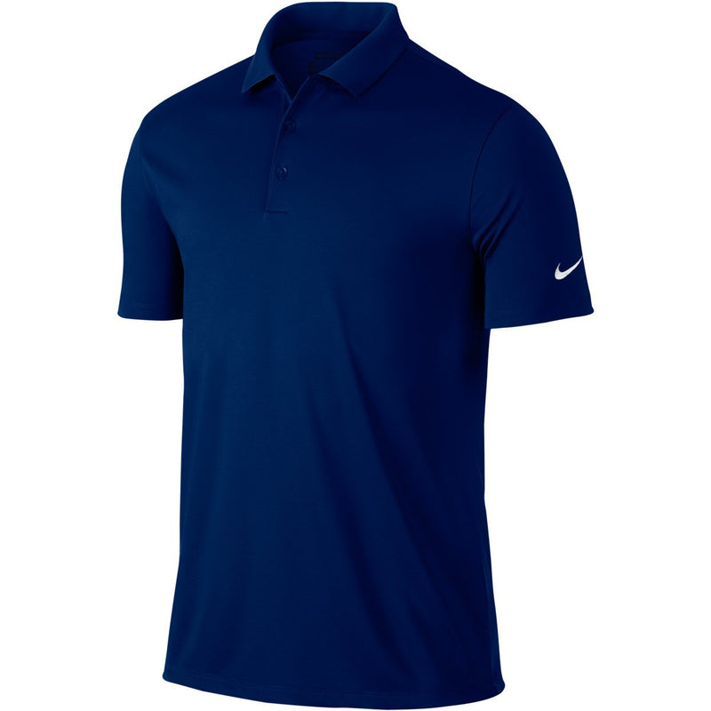 Navy VICTORY SOLID POLO   -  OUTLET