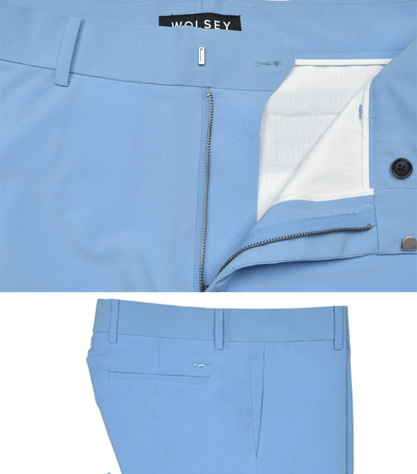 AZURE HIGH STRETCH SPORT CHINO   -