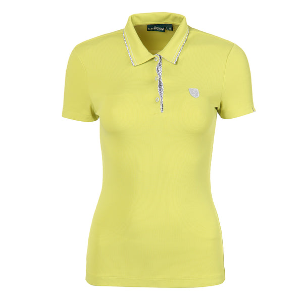 Yellow ADELLE Polo - WOMEN / OUTLET