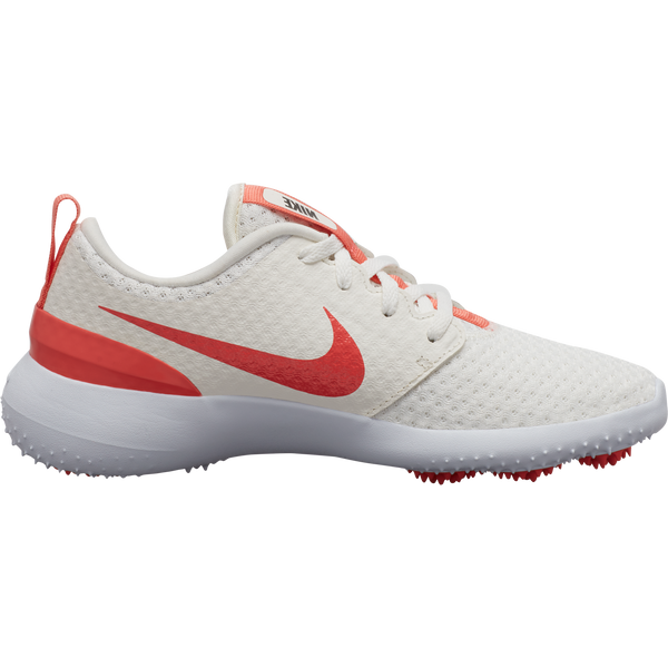 White 'Roshe G Jr.' Golf Shoe - Junior / AW20