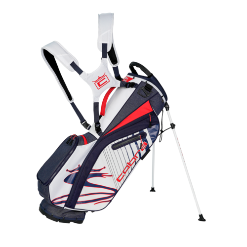 Peacoat-High Risk Red-White 'Ultralight' Stand Bag UL20