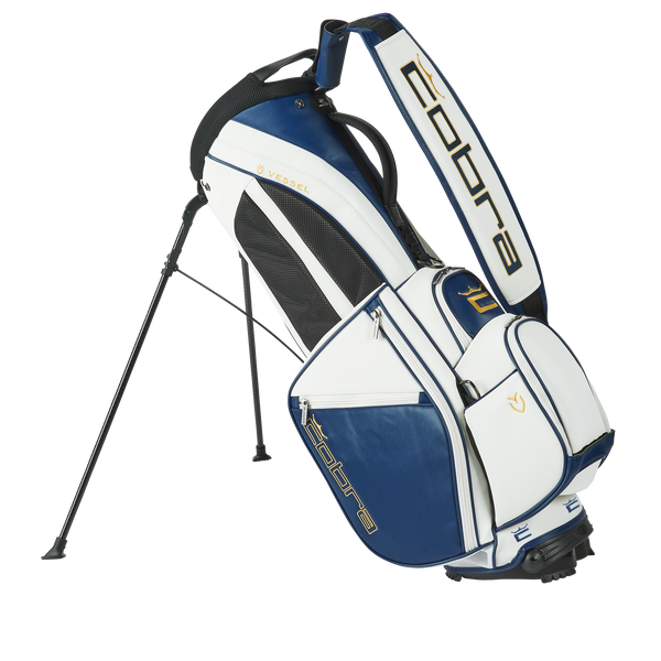 WHITE 'COBRA X VESSEL'  GOLDEN STANDARD' STAND BAG