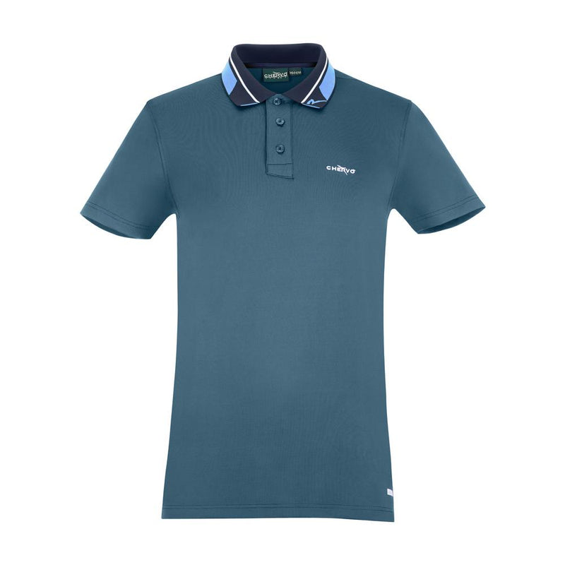 HAWAI BLUE ANALOGY POLO   -  SS17