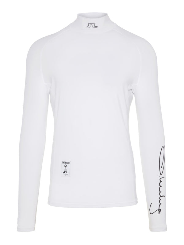 White EL SOFT COMPRESSION Top  - Men's / SS19