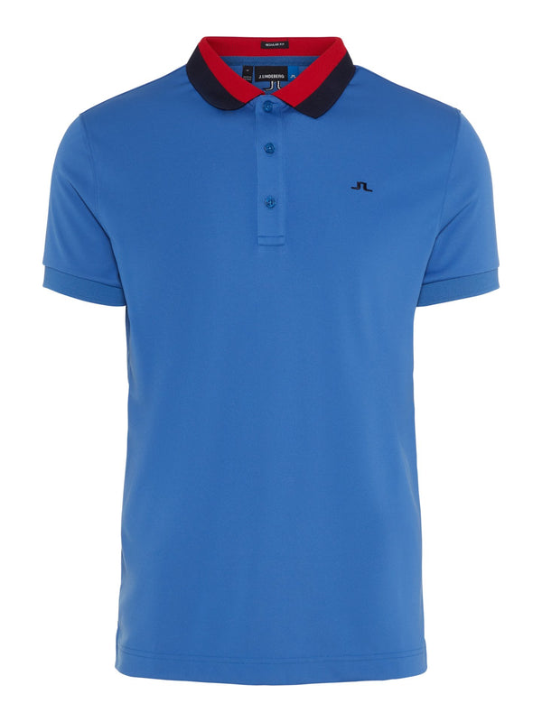 Work Blue MATT  REGULAR FIT TX JERSEY SHORT SLEEVE POLO - MEN'S / SS19