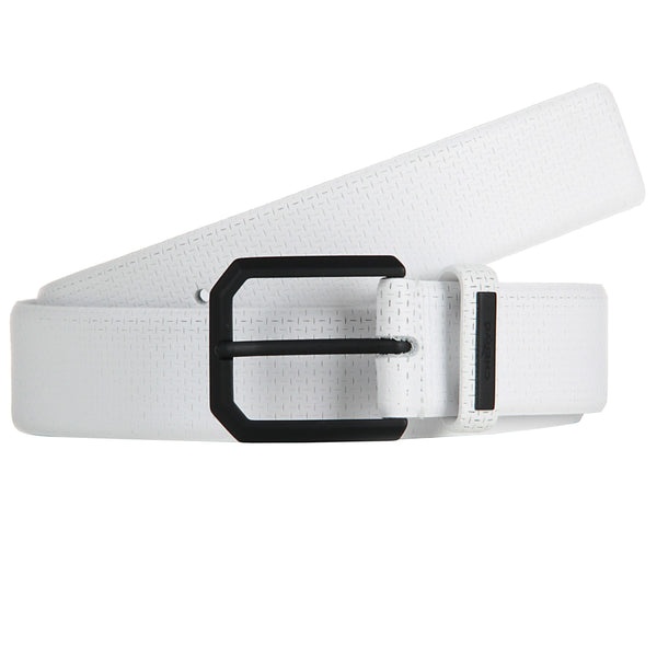White UPACO 100% LEATHER Belt - Men / OUTLET