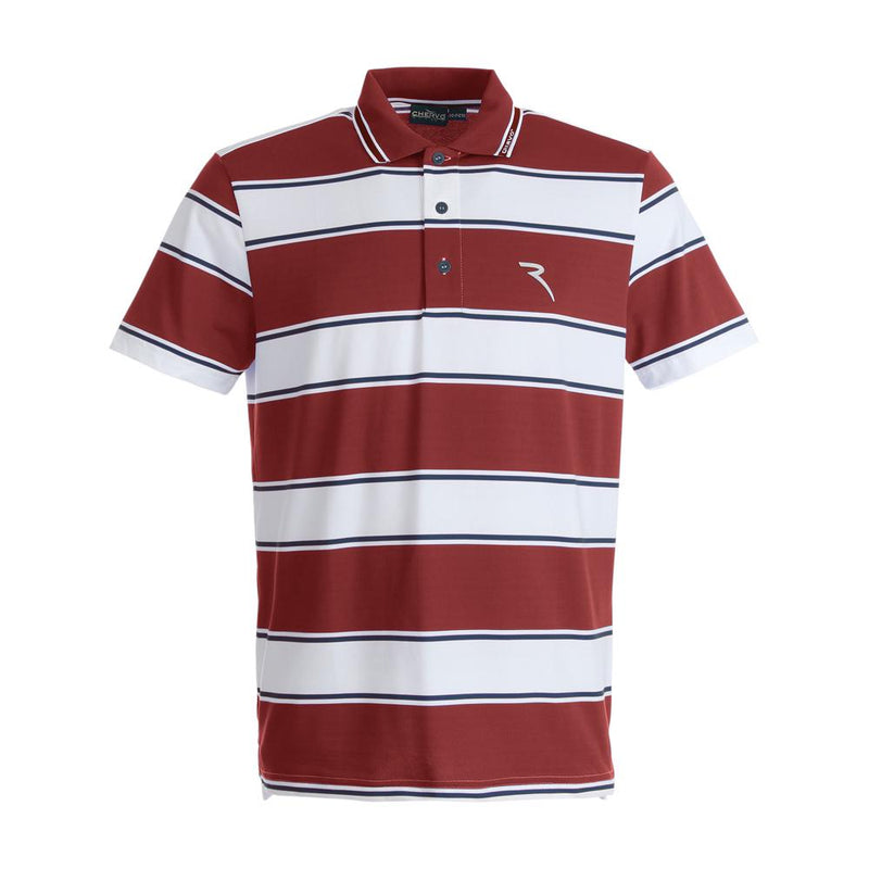 RED WHITE ACCANTO POLO   -  SS17