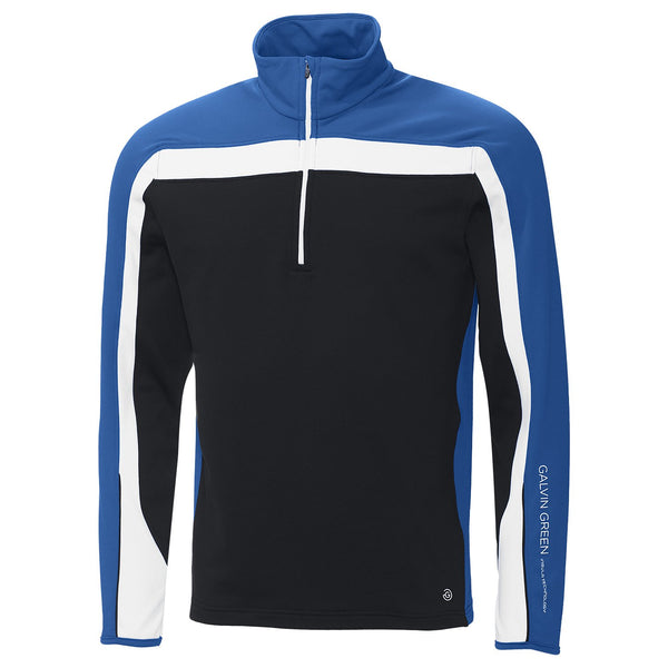KINGS BLUE/BLACK/WHITE DANNY HALF-ZIP MEN'S INSULA™ SWEATER - AW17