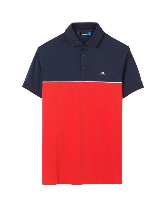 RED/NAVY BRIGHTON regular TX JERSEY - Men's / SS18