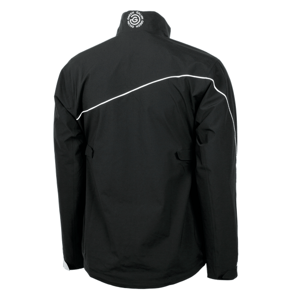 Black/White/Grey 'AARON' Waterproof Golf Jacket with Gore-Tex - MEN / AW20