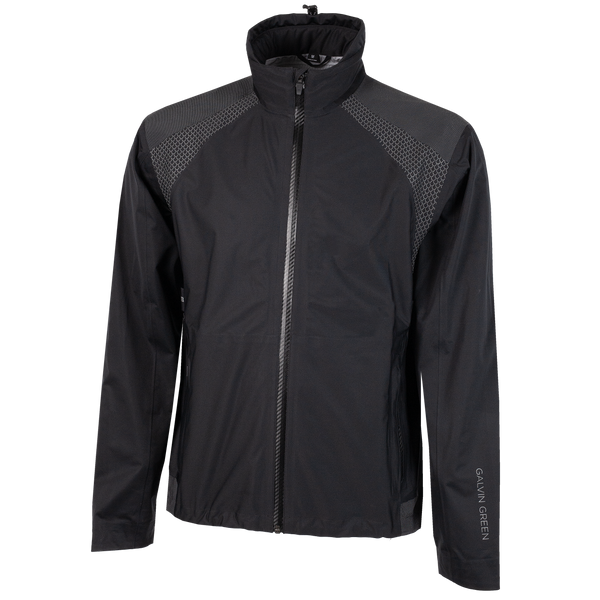 Black 'ACTION' Waterproof GORE-TEX Golf C-KNIT™ Jacket - MEN