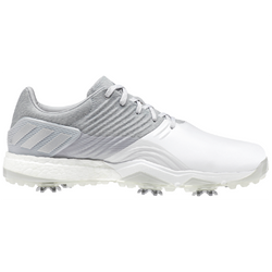 WHITE/SILVER ADIPOWER 4 AC8262 - Men's / SS19