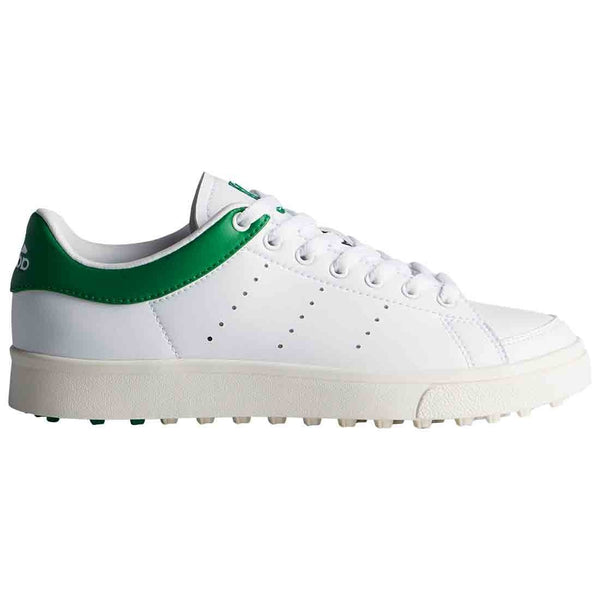 WHITE 'Jr Adicross Classic' GOLF SHOE - JUNIOR / SS20