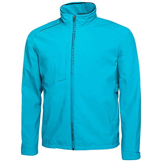 BLUE 'Alfred' GORE-TEX GOLF JACKET - MEN / OUTLET