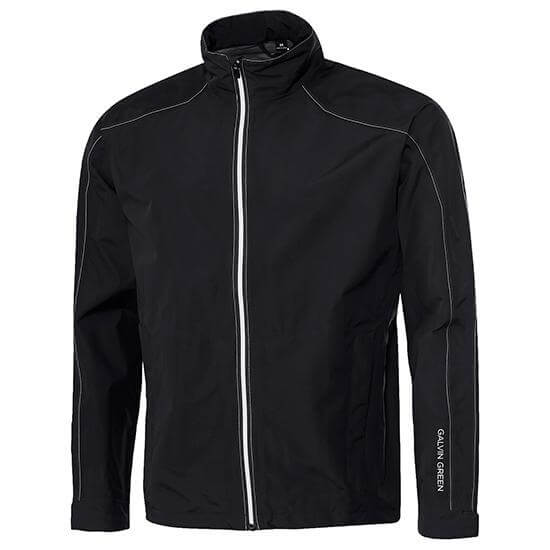 BLACK 'ALONZO' GORE-TEX WATERPROOF GOLF Jacket - MEN / OUTLET