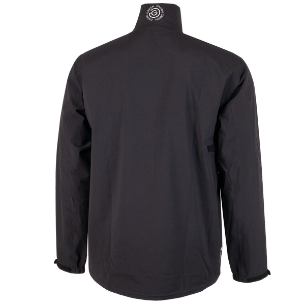 BLACK 'APOLLO' WATERPROOF GORE-TEX GOLF JACKET - MEN