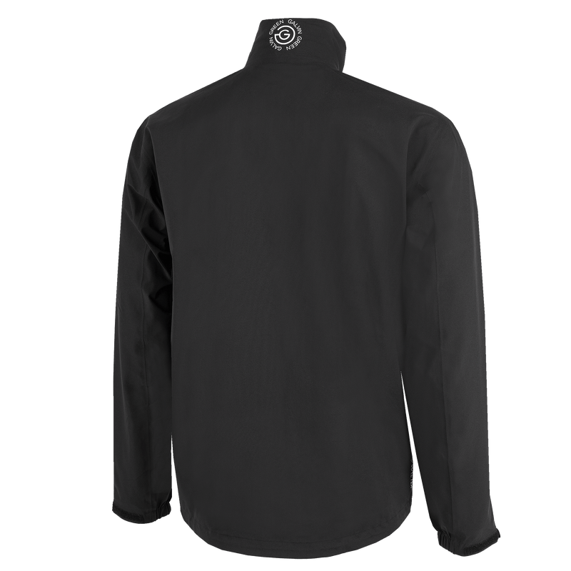 BLACK 'APOLLO' WATERPROOF GORE-TEX GOLF JACKET - MEN / AW20