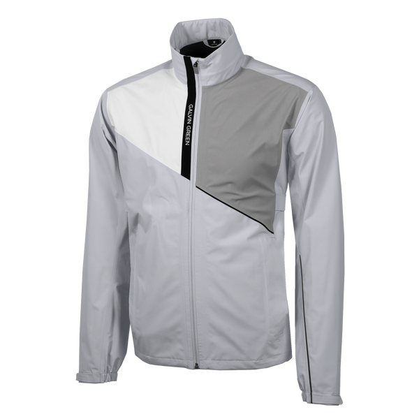 GREY 'APOLLO' WATERPROOF GORE-TEX GOLF JACKET - MEN / AW20