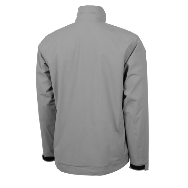 GREY 'ARLIE' GORE-TEX WATERPROOF GOLF JACKET - MEN / AW20