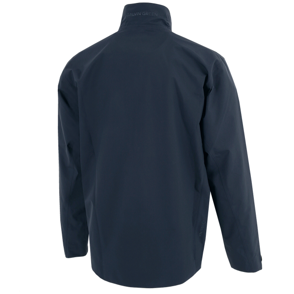 NAVY 'ARLIE' GORE-TEX WATERPROOF GOLF JACKET - MEN / AW20