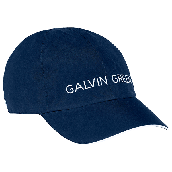 NAVY 'AXIOM' GORE-TEX GOLF CAP - UNISEX / AW20