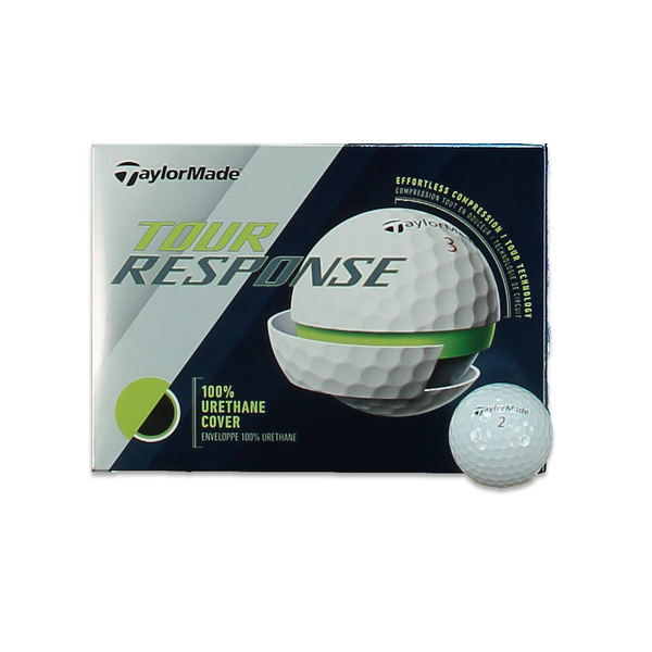 WHITE 'Tour Response' Golf Balls- 12 PACK / 2020