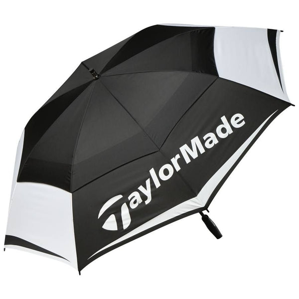Black 'Double Canopy Golf Umbrella 64""