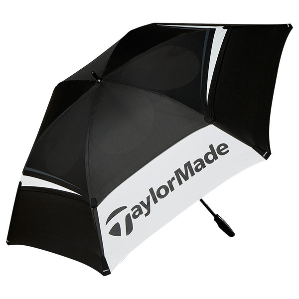 Black 'Double Canopy Golf Umbrella 68""