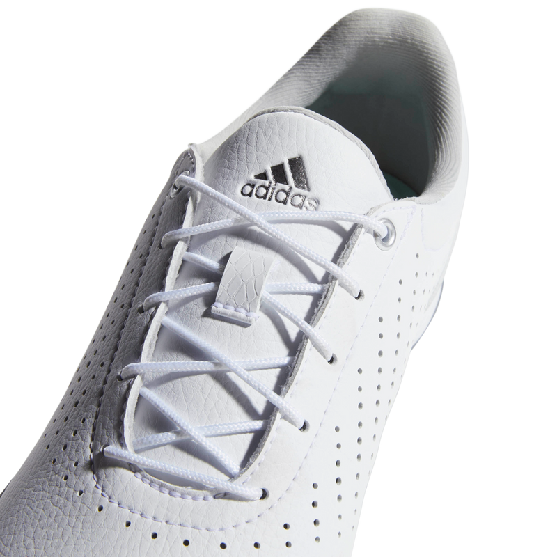 WHITE 'ADIPURE SC' GOLF SHOE - WOMEN / SS20