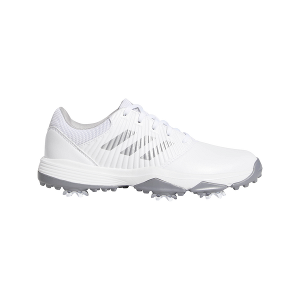 White 'TRAXION' Waterproof Golf Shoe - Junior / SS20
