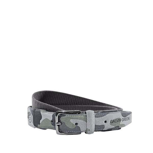 Khaki E-Camo Belt - Men's / AW18