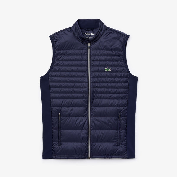 NAVY 'SPORT' Lightweight Water-Resistant Quilted Golf Vest - MEN / AW20