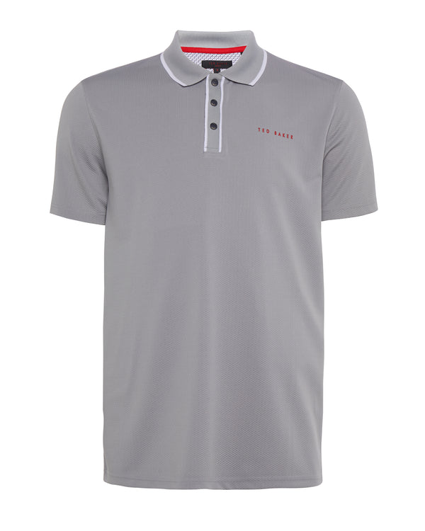light GREY 'BUNKA' golf polo shirt - MEN / SS20