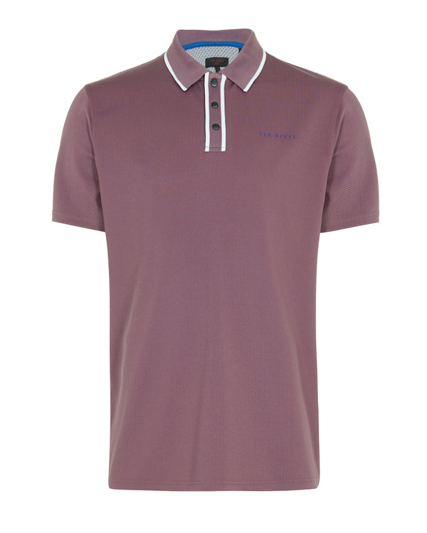 PURPLE 'BUNKA' golf polo shirt - MEN / SS20