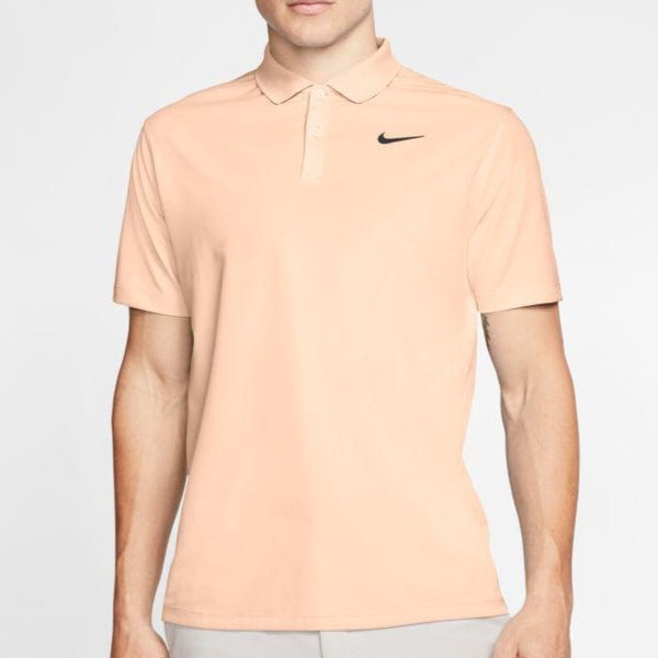 CRIMSON TINT/OBSIDIAN 'Dri-FIT' Victory Golf Polo - MEN