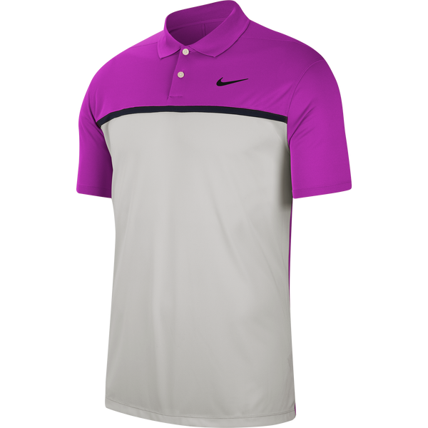 PURPLE 'Dri-FIT Victory' GOLF POLO SHIRT - MEN / AW20