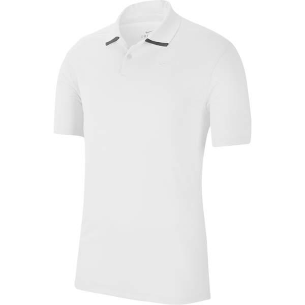 WHITE 'DRI-FIT VAPOR' GOLF POLO SHIRT - MEN / SS20
