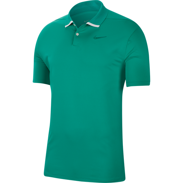 NEPTUNE GREEN 'DRI-FIT VAPOR' GOLF POLO SHIRT - MEN / SS20