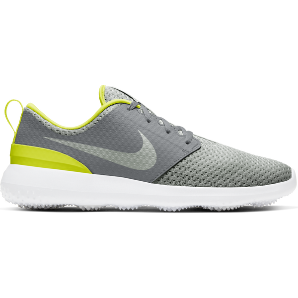 SMOKE GREY/GREY FOG-WHITE-LEMON VENOM 'Nike Roshe G' Golf Shoe - MEN / FW20