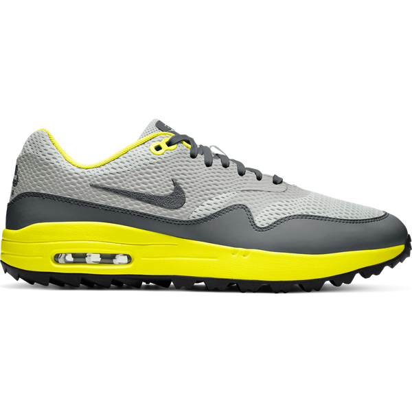GREY FOG/SMOKE GREY-PHOTON DUST 'Nike Air Max 1 G' Golf Shoe - MEN / FW20