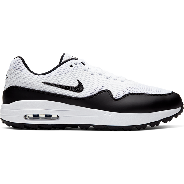 WHITE 'AIR MAX 1 G' GOLF SHOE - MEN / SS20