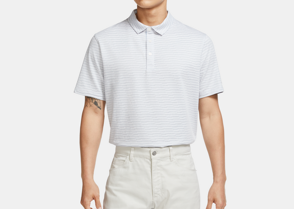 White 'Dri-FIT' Player Golf Polo - MEN / AW20