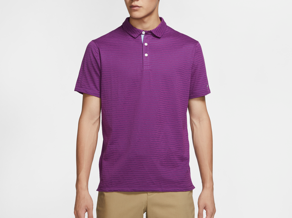 Purple 'Dri-FIT' Player Golf Polo - MEN / FW20