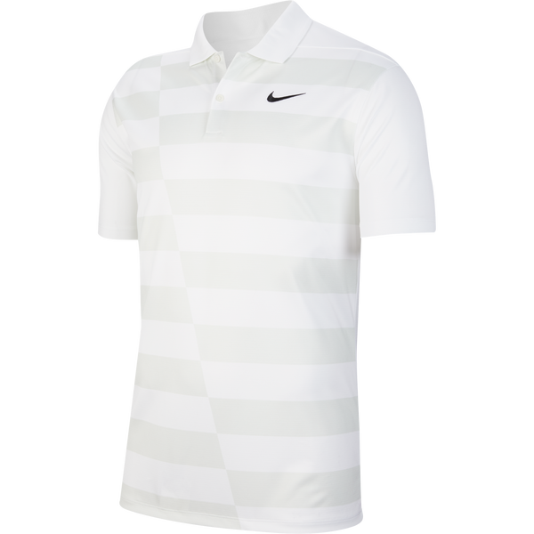 White 'Dri-FIT' Graphic Golf Polo - MEN / FW20