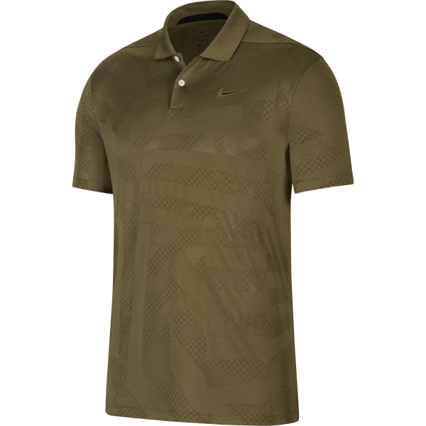 MEDIUM OLIVE/MEDIUM OLIVE 'Nike Dri-FIT Vapor' Golf Polo Shirt - MEN / FW20