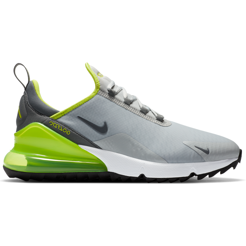 GREY FOG/SMOKE GREY-WHITE-BLACK 'Nike Air Max 270 G' Golf Shoe - MEN / FW20